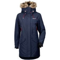 Didriksons Celine parka, womens, navy