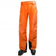 Helly Hansen Backbowl Cargo mens ski pants, orange