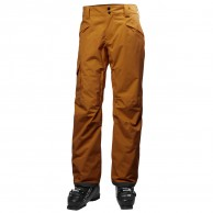 Helly Hansen Sogn Cargo mens ski pants, brown