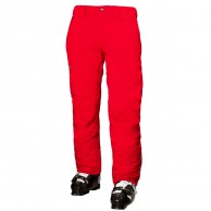 Helly Hansen Velocity Insulated mens ski pants, red