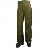 Helly Hansen Selkirk mens ski pants, green