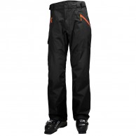 Helly Hansen Selkirk mens ski pants, black