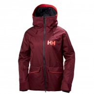Helly Hansen W Powderqueen Ski Jacket, women, bordeaux