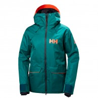 Helly Hansen W Powderqueen Ski Jacket, women, green