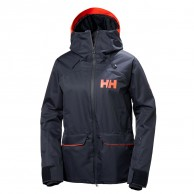 Helly Hansen W Powderqueen Ski Jacket, women, blue