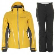 DIEL Bianka/Chara ski set, women, yellow/black