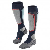 Falke SK2 Wool ski socks, women, marine