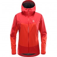 Haglöfs Virgo Jacket, women, red