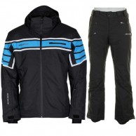 DIEL Albert/Argo ski set, men, black