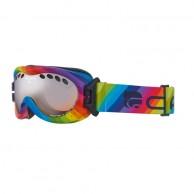 Cairn Drop, goggles, rainbow