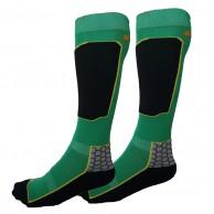 Seger Racer, Ski Socks, 2-pair, green