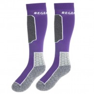 Seger Racer, Ski Socks, 2-pair, purple