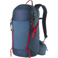 Haglöfs Spira 25 Backpack, blue/red