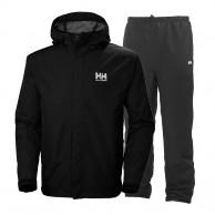 Helly Hansen Seven J set, mens Rain Suit, black