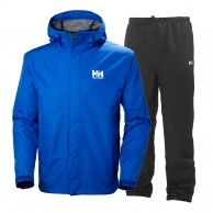 Helly Hansen Seven J, Rain Suit, mens, olympian blue
