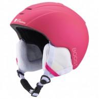 Cairn Boost, junior ski helmet, mat fuchsia