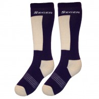 Seger Alpin, Ski Socks, women, 2-pair, purple