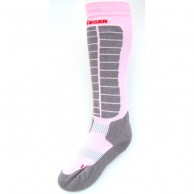 Seger Evolution, Ski Socks, 2-pair, rose/grey