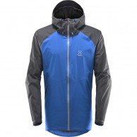 Haglöfs Esker Jacket, Mens Shell Jacket, cobalt blue