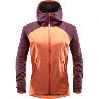 Haglöfs Esker Jacket, Womens Shell Jacket, Coral Pink