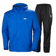 Helly Hansen Portland, Rain Suit, men, olympian blue
