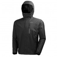 Helly Hansen Vancouver, rain jacket, men, Black