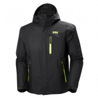 Helly Hansen Vancouver, rain jacket, men, ebony