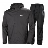 Helly Hansen Portland, Rain Suit, men, ebony