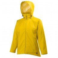 Helly Hansen W Voss, rain Jacket, women, yellow