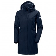 Helly Hansen W Aden Long, Rain Jacket, womne, blue