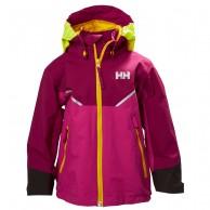 Helly Hansen K Shelter, Rain jacket, purple