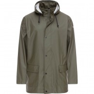 Weather Report Torsten, rain jacket, mens, green