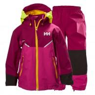 Helly Hansen K Shelter, Rain suit, purple