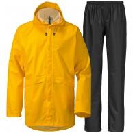 Didriksons Avon, Rain Suit, unisex, yellow