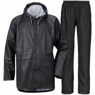 Didriksons Avon, Rain Suit, unisex, balck