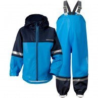 Didriksons Waterman, Rain Suit, kids, blue