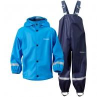 Didriksons Slaskeman, Rain Suit, kids, blue