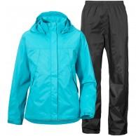 Didriksons Tigris, Rain Suit, kids, turquoise