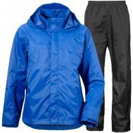 Didriksons Tigris, Rain Suit, kids, blue