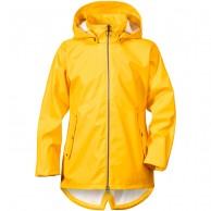 Didriksons Tia Galon, Rain jacket, yellow