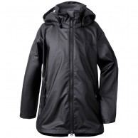 Didriksons Tia Galon, Rain jacket, black