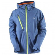 2117 of Sweden Götene, Rain Jacket, berry blue