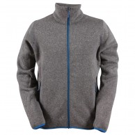 2117 of Sweden Tobo mens fleece jacket, grey