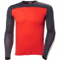 Helly Hansen Merino Light LS, men, grenadine