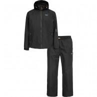 Weather Report Ulf, black, mens rain suit