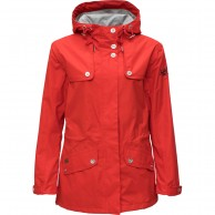 Weather Report, Freja rainjacket, women, red