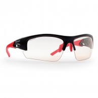 Demon Iron Photochromatic sunglasses, black/red