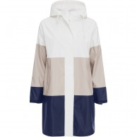 Weather Report Greda Rain Jacket, women, navy stripe