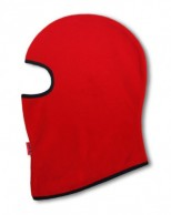 Kama Fleece Balaclava, for kids, red
