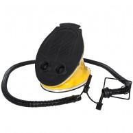 Trespass Newmatic foot pump, yellow